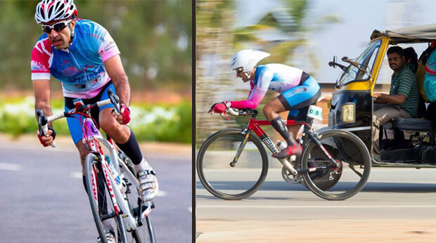 neurosurgeon is cycle racing