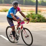 This neurosurgeon is cycle racing to raise funds for people with back injury
