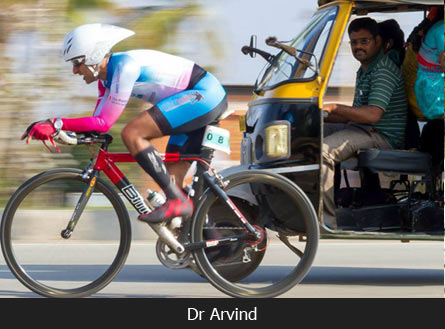 neurosurgeon is cycle racing