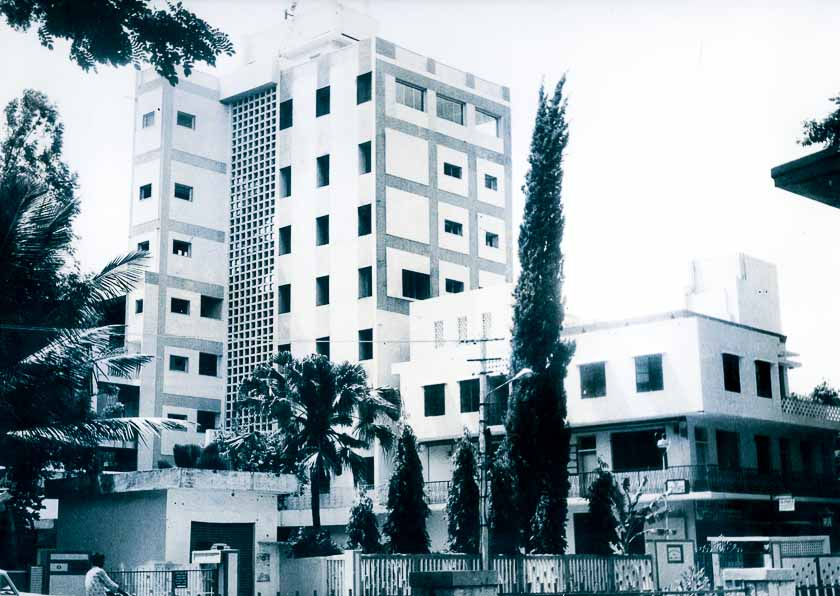 Completion of the building. Circa 1979-2