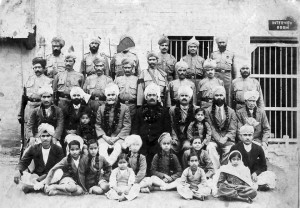 The Multan borstal - Dr Sita is the child right in front, second from the right.